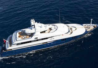 Sarah Charter Yacht at Cannes Film Festival 2014
