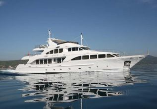 Frish Charter Yacht at Monaco Yacht Show 2014
