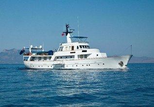 La Grande Dame Charter Yacht at Palma Superyacht Show 2014