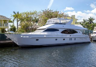 Perfect Sense Charter Yacht at Fort Lauderdale Boat Show 2015