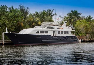 Lady Lex Charter Yacht at Miami Yacht Show 2018
