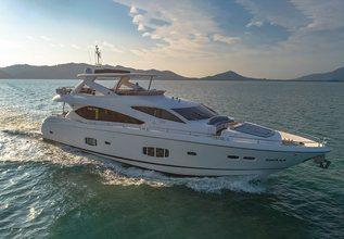 Maxxx Charter Yacht at Thailand Charter Week