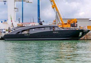 Freedom Charter Yacht at Monaco Yacht Show 2018
