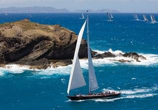 Whisper Charter Yacht at Antigua Charter Yacht Show 2017