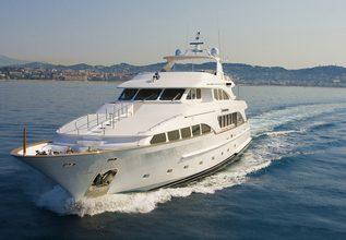 Inouis Charter Yacht at MYBA Charter Show 2015