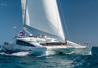 Blue Gryphon Charter Yacht at Bahamas Charter Show 2020