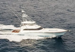 Cowboy Charter Yacht at Fort Lauderdale Boat Show 2017