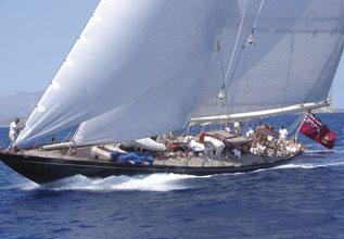 Shamrock V Charter Yacht at Les Voiles de Saint-Tropez 2013
