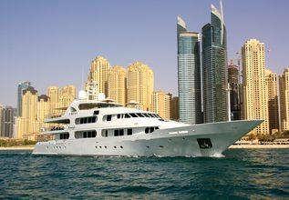 Seabreeze Charter Yacht at Abu Dhabi Grand Prix 2017