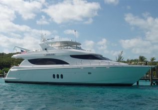 Flip a Coin Charter Yacht at Fort Lauderdale Boat Show 2014