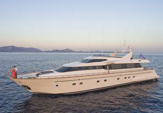 Martina Charter Yacht at Mediterranean Yacht Show 2017