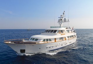 Spada Charter Yacht at Cannes Yachting Festival 2014
