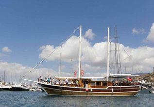 Harmonia Charter Yacht at East Med Yacht Show 2018