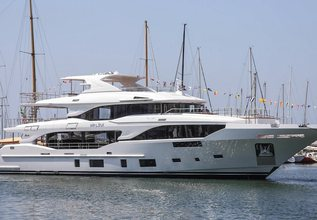 Uny Charter Yacht at Cannes Yachting Festival 2018