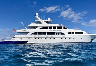 Tanzanite Charter Yacht at Fort Lauderdale Boat Show 2016