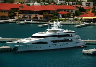 Wanderlust Charter Yacht at Fort Lauderdale Boat Show 2015