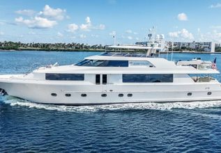 Our Heritage Charter Yacht at Fort Lauderdale International Boat Show (FLIBS) 2021
