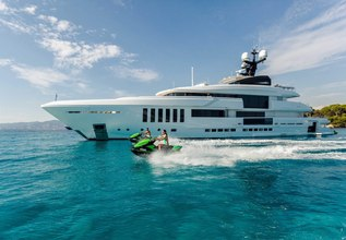 Ouranos Charter Yacht at Mediterranean Yacht Show 2017