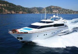 POWDERMONKEY OF LONDON Charter Yacht at Palma Superyacht Show 2014