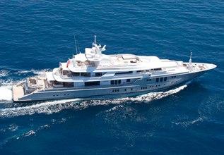Siren Charter Yacht at Antigua Charter Yacht Show 2014
