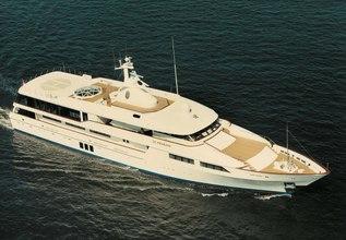 Le Pharaon Charter Yacht at Monaco Yacht Show 2017