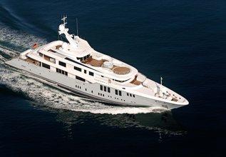 Odessa II Charter Yacht at Monaco Yacht Show 2014