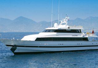 Sea Lady II Charter Yacht at MYBA Charter Show 2014