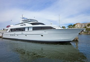 Sunday Money Charter Yacht at Fort Lauderdale Boat Show 2014