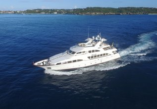 Brunello Charter Yacht at MYBA Charter Show 2013