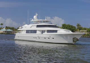 Pipe Dreams Charter Yacht at Fort Lauderdale Boat Show 2014