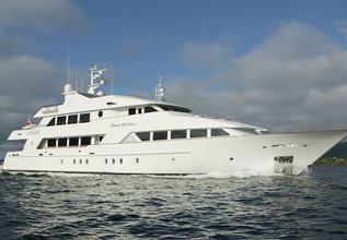 Alta Charter Yacht at Fort Lauderdale Boat Show 2014