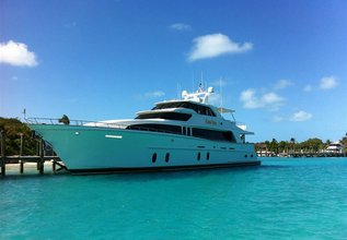 Prince of Tides Charter Yacht at Miami Yacht Show 2018