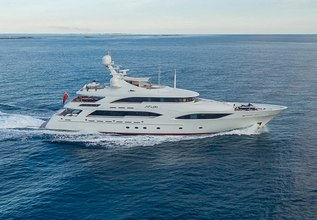 Avalon Charter Yacht at Palm Beach Boat Show 2014
