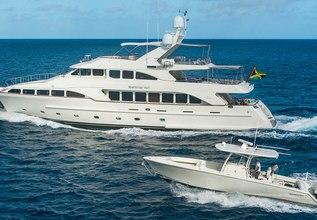Heaven Can Wait Charter Yacht at Yachts Miami Beach 2016
