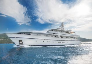 Cheetah Moon Charter Yacht at MYBA Charter Show 2017