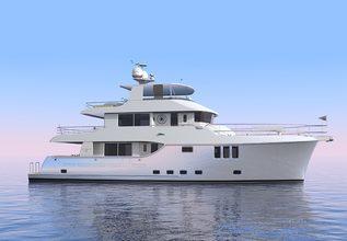 Nordhavn 80 /01 Charter Yacht at Fort Lauderdale International Boat Show (FLIBS) 2021