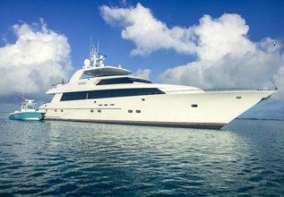 Legendary Charter Yacht at Palm Beach Boat Show 2014