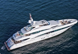 Inception Charter Yacht at The Superyacht Show 2019