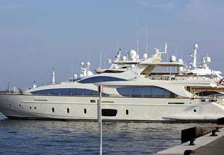 La Rubia Charter Yacht at Monaco Yacht Show 2019
