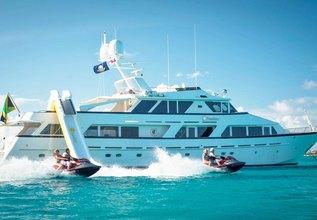 Sunshine Charter Yacht at Antigua Charter Yacht Show 2014
