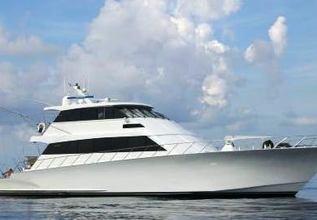 Kritical Mass Charter Yacht at Palm Beach Boat Show 2014