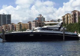 Something About Meri Charter Yacht at Fort Lauderdale Boat Show 2017