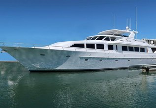 Determination Charter Yacht at Miami Yacht Show 2018