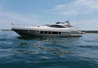 Latitude Charter Yacht at Miami Yacht Show 2020