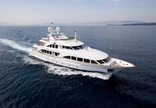 Aura Charter Yacht at Monaco Grand Prix 2014