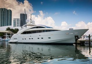 Happy Hour Charter Yacht at Monaco Yacht Show 2014