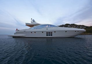 Nami Charter Yacht at Cannes Yachting Festival 2014