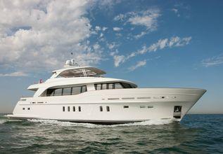Firefly Charter Yacht at Monaco Yacht Show 2015