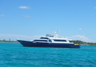 Island Time Charter Yacht at Palm Beach Boat Show 2014