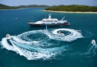 Berzinc Charter Yacht at Cannes Yachting Festival 2014